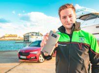 Súťaž o funkčnú bundu Škoda Motorsport a 10 000 mAh power-banku Škoda