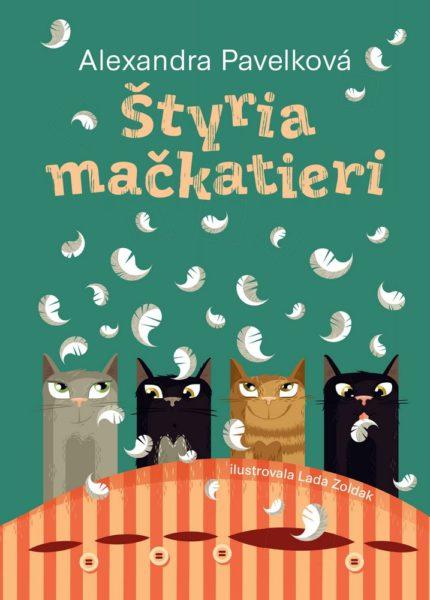 Súťaž o knihu Štyria mačkatieri od Alexandry Pavelkovej