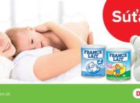 Súťaž o mesačnú zásobu dojčenského mlieka France Lait