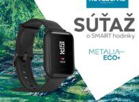 Súťaž o smart hodinky Amazfit Bip od NOVASERVIS
