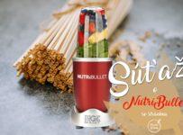 Súťaž o smoothie mixér NUTRI BULLET a balíček našich ekologických PŠENIČNÝCH SLAMIEK