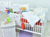 Súťaž o výbavu do postieľky pre bábätko od EMI