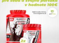 Súťaž o veľké balenie proteínu (2x2270g) s príchuťou jahoda