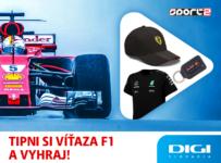 Súťaž o zaujímavé F1 ceny