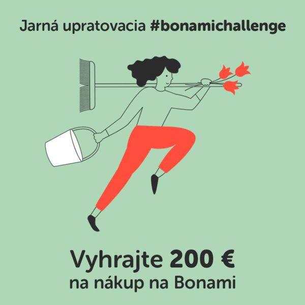 Upracte si s Bonami a vyhrajte 200 €