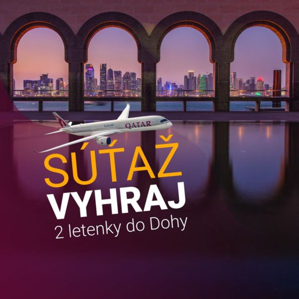 Vyhraj 2 letenky do Dohy