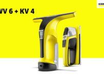 Vyhrajte batériový čistič okien a stierku - WV 6 + KV 4