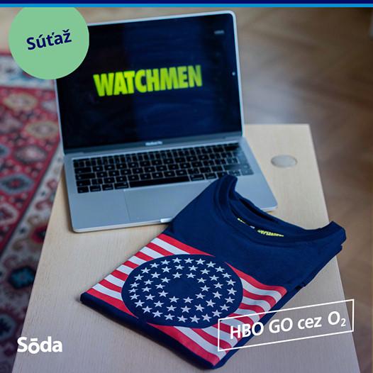 Vyhrajte originálne tričká Watchmen od HBO GO