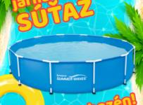 Jarná súťaž o bazén Polygroup od Lacnebazeny.sk