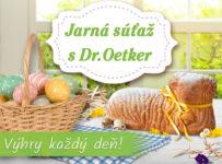 Jarná súťaž s Dr. Oetker