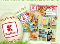 Súťaž o 100 x nákupná poukážku Kaufland v hodnote 50 eur