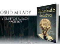 Súťaž o 2 knihy vydavateľstva Motýľ - Ukradnuté detstvo