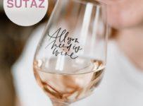 Súťaž o 2 poháriky na víno s nápisom All you need is wine