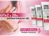 Súťaž o 20x Antibakteriálny Gél na ruky Only Eco