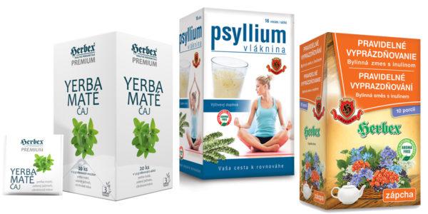 Súťaž o 3 balíčky s produktami Herbex