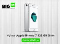 Súťaž o Apple iPhone 7 128GB Silver