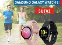 Súťaž o Samsung Galaxy Watch Active 2