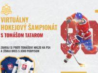 Súťaž o hokejový dres s podpisom Tomáša Tatara
