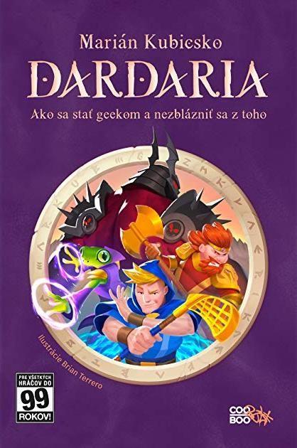 Súťaž o knihu Mariána Kubicska Dardaria