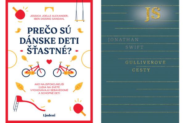 Súťaž o knihy Prečo sú dánske deti šťastné, Gulliverové cesty