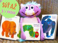 Súťaž o kolekciu 3 knižiek pre deti od Erica Carleho