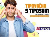 Súťaž o kredit na hranie online hier v hodnote 100 EUR od Tiposu