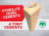 Súťaž o o 4 tony cementu od Považskej cementárne, a. s., Ladce