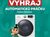 Súťaž o práčku HISENSE WDBL1014V