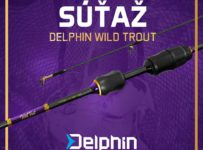 Súťaž o skvelý prívlačový prút Delphin Wild Trout
