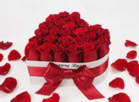 Súťaž o srdcový box živých ruží od Luxury Roses