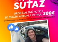 Urob šialenú fotku a vyhraj 300€
