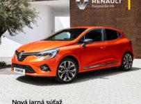 Vyhrajte Nový Renault Clio na víkend s plnou nádržou