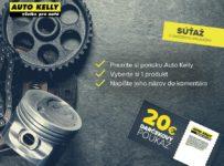 Vyhrajte darčekový poukaz v hodnote 20 € v Auto Kelly
