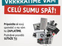 Vyhrajte preplatenie zakúpeného zariadenia až do výšky 500 EUR