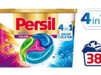 Súťaž o Persil Discs, prvé štvorkomorové kapsuly na pranie