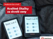 Kvalitné čítačky PocketBook za skvelé ceny!