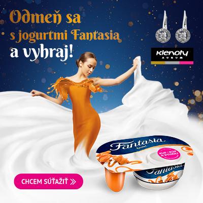 Odmeň sa s jogurtmi Fantasia a vyhraj