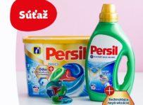 Súťaž o 10x Persil gél a Persil Discs Odor Neutra