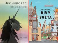 Súťaž o 2 detské knihy Jednorožec - Laura Urban a Ako sa stavali divy sveta