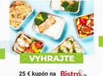 Súťaž o 25 € kupón na donášku jedla od Bistro.sk