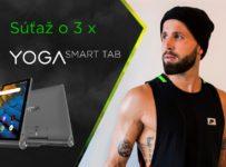 Súťaž o 3 x Yoga Smart Tab