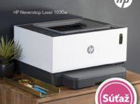 Súťaž o 3x úspornú laserovú tlačiareň HP Neverstop