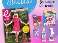 Súťaž o 3x balíček produktov od spoločnosti Henkel