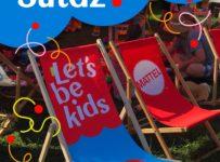 Súťaž o 5 parádnych letných ležadiel Let´s Be Kids pre deti