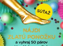 Súťaž o 50 párov Veselých ponožiek