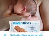 Súťaž o Waterwipes, najčistejšie vlhčené utierky na svete
