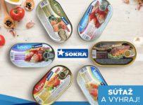 Súťaž o balíček 12 konzerv lososa od Sokra, 2 z každého druhu