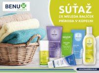 Súťaž o balíček prírodnej kozmetiky WELEDA