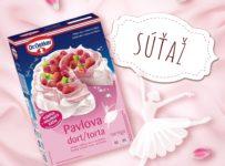 Súťaž o balíček so zmesou a prípravu Pavlovej torty