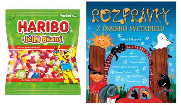 Súťaž o balíčky Haribo a knižky Rozprávky z ôsmeho svetadielu